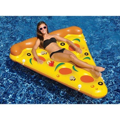 披萨造型充气漂浮床