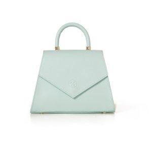 The Jennifer Light Blue Bag - Nina Hauzer | Luxury Leather goods