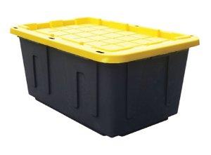 4 for $25.57Centrex Plastics Tough Box Storage Tote, 27 Gallons