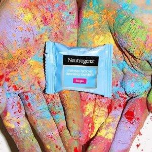 $7.98(原价$9.97) 20个装Neutrogena 露得清小包装卸妆巾 方便携带 网红卸妆巾