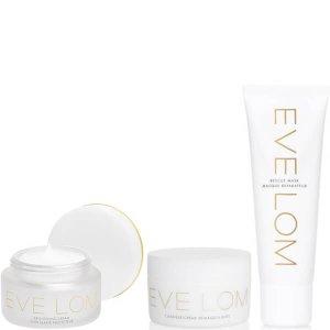变相4.9折 + 送调色盘 (价值$35)补货:EVE LOM 光彩护肤套装(内含3件明星产品)
