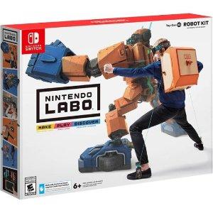 $24.99 (原价$59.99)Nintendo Labo Robot Kit 纸板游戏套装