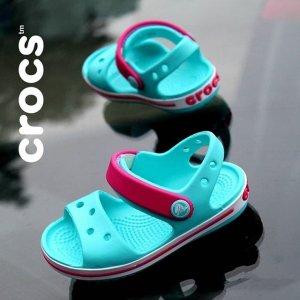 7折起+ 额外7折 $26入ElsaCrocs Canada Day 童鞋热卖   $19收蝴蝶结小公主鞋