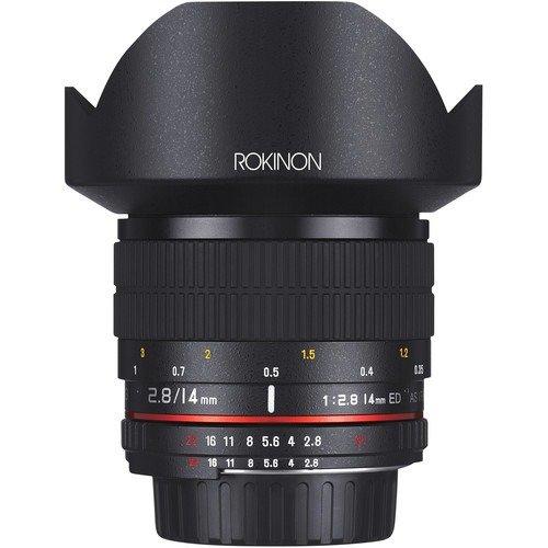 Rokinon 14mm f/2.8 IF ED UMC 镜头 Nikon AE芯片兼容