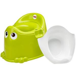 $11(原价$28.84)Fisher-Price 幼儿如厕训练马桶 青蛙造型