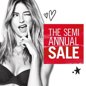 Up to 60% OffSemi-annual sale @ Victoria's Secret