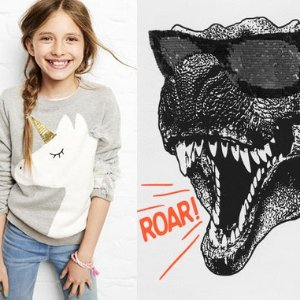 FS+ 50-60% Off + Extra 20% Off $40+ Up to $60 Fun Cash on Unicorns & Dinos The Coolest Gift List