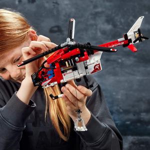 $39.97包邮(原价$49.99) 325块积木LEGO Technic系列二合一 救援飞机、概念飞机42092