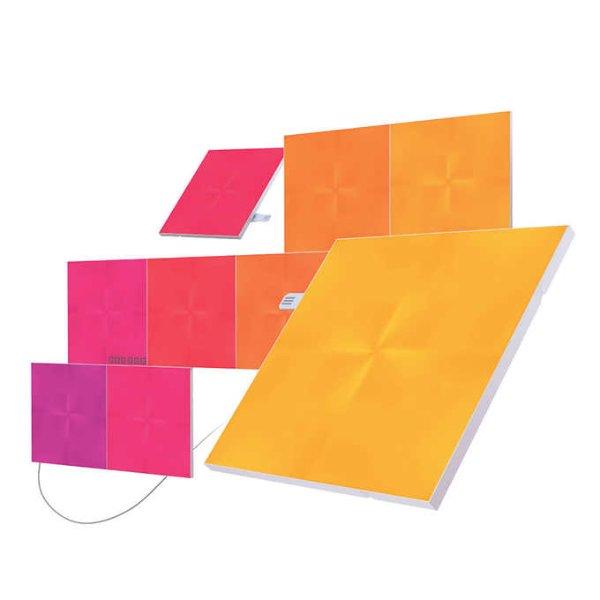 Nanoleaf Canvas 智能方块灯 全包套装, 含灯片9张+安装配件