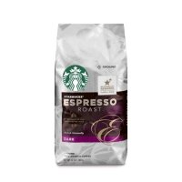 Starbucks Espresso 咖啡粉, 12-Ounce Bag
