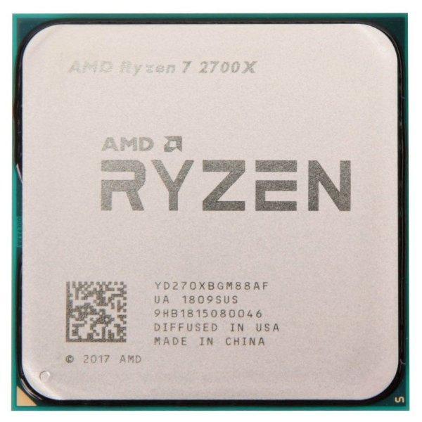 AMD Ryzen 7 2700X 3.7GHz 8核