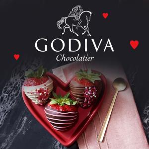 低至4折 红丝带8颗装$7.6甜蜜520:Godiva 歌帝梵巧 比利时巧克力礼盒 丝滑甜蜜