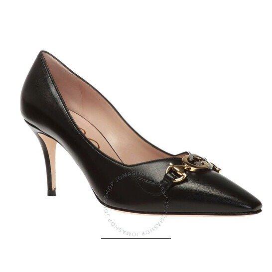 Ladies Zumi Mid-Heel黑色高跟鞋
