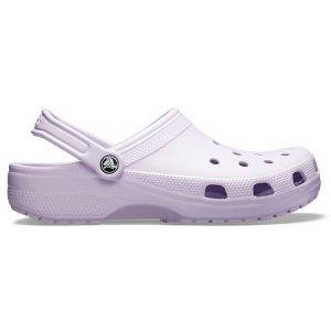 Crocs香芋紫女款洞洞鞋