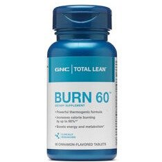 Last Day: $8.99GNC Total Lean™ Burn 60™ - Cinnamon Flavored