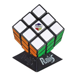 Hasbro Gaming Rubik's 3X3 Cube, Puzzle Game, Classic Colors @ Amazon