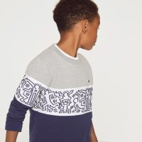 Lacoste X Keith Haring男童印花卫衣