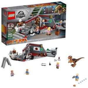 $26.8 (原价$39.99)LEGO 侏罗纪世界迅猛龙追逐75932