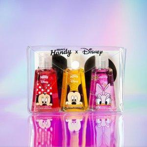 低至5折 收Disney联名洗手液Merci Handy 身体护理热卖 消毒、杀菌免洗洗手液用起来