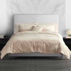 $131.25(原价$250-$280)手慢无:Vera Wang 全棉梦幻优雅床上四件套热卖 4色可选