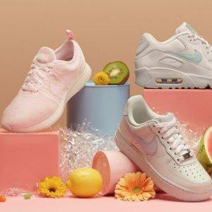 54胖速抢空军1号Nike英国官网大童款糖果色甜美来袭