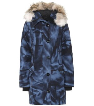 Canada Goose Rossclair Fur-Trimmed Down Parka