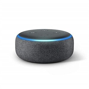 $22 (原价$49.99)黑五预告:Amazon Echo Dot Smart Speaker 智能音箱3代