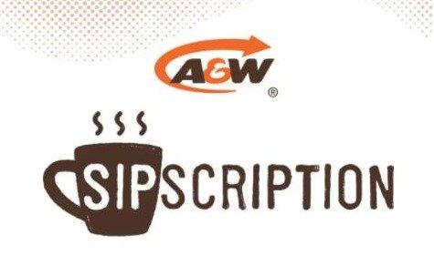 A&W 邀你免费!喝一整月咖啡A&W 邀你免费!喝一整月咖啡