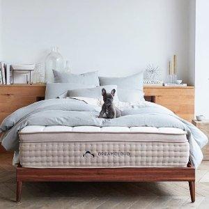 立减 $200 低至$699Dreamcloud 15寸奢华床垫 如云般舒适睡眠体验