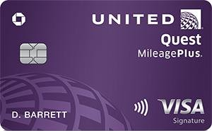 Up to 100k bonus milesNew United Quest℠ Card