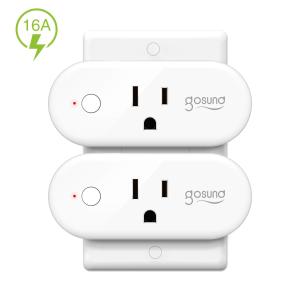 $14.24TanTan Wi-Fi 智能插座 2个 支持Alexa & Google