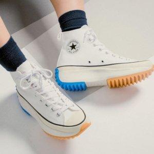 $110起 街头潮人必备Converse Run Star Hike 厚底鞋上新 心机设计超显腿长