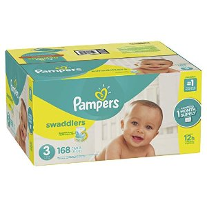 $3 OffPampers Disposable Diapers @ Amazon