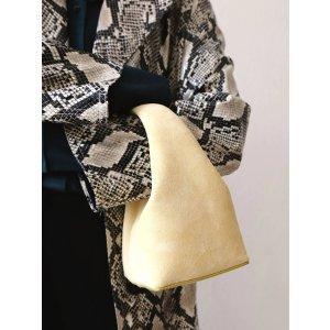 Moschino麂皮手提包