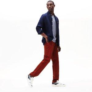 LacosteMen's Regular Fit Cotton Gabardine Chino Pants