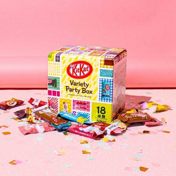 日本多种口味混合装Kitkat(18种口味 60块)