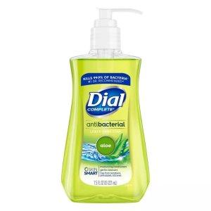 $1.49Dial Antibacterial Aloe Liquid Hand Soap - 7.5oz