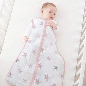 低至5.1折 柔软亲肤 宝宝最爱Aden & Anais 婴儿包巾、睡袋、毛巾等热促