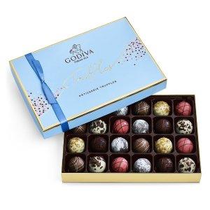 GodivaPatisserie Dessert Truffles Gift Box, 24 pc.