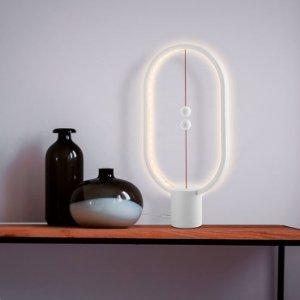 磁球随电源分合LIVARNO LUX 创新LED台灯 暖白光 黑白两色可选