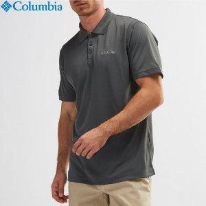 低至3折 $15.3起(原价$49.99)Columbia 男士舒适纯色Polo衫 夏季清爽不油腻