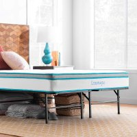 Linenspa 8英寸记忆棉床垫 含14英寸金属床架