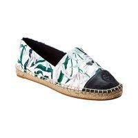 Tory Burch Colorblocked 印花渔夫鞋