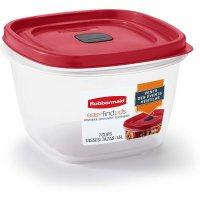 Rubbermaid 保鲜盒7-Cup容量 带微波炉气阀