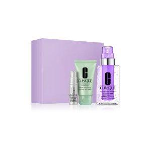 Clinique价值$60紫色保湿啫喱套装
