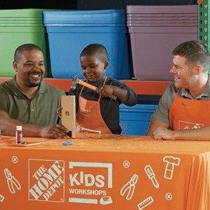 制作潜望镜玩具3月The Home Depot 免费的儿童手工作坊活动