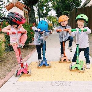 包邮 满$200立减$50Micro Kickboard 瑞士米高Micro儿童滑板车热卖