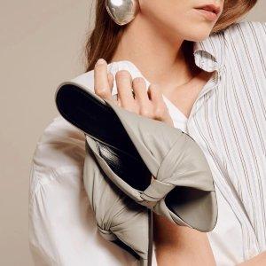 Balenciaga5折!仅剩最后1双!灰色皮革穆勒鞋