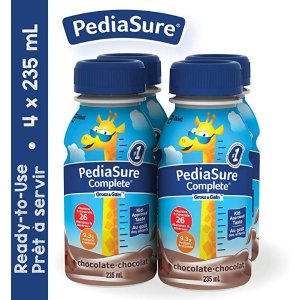 PediaSure需要通过Subscribe&Save结账儿童蛋白质补充饮品,巧克力味,4 x 235ml