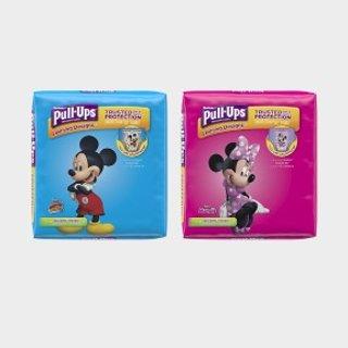 低至7.5折+额外9.5折+包邮Huggies Pull-Ups系列宝宝训练裤,低至$0.2每片